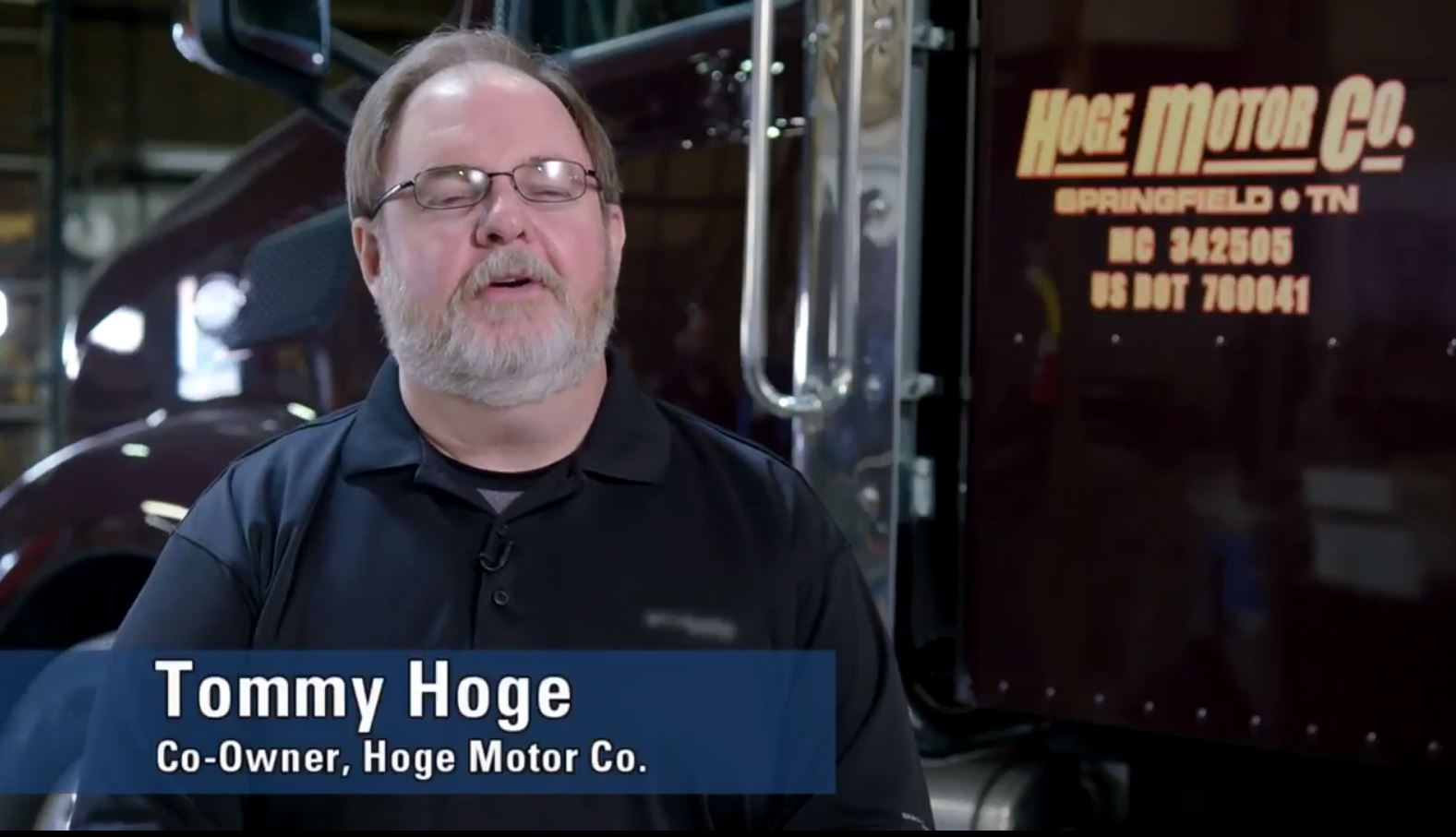 Tommy Hoge, Co-Owner, Hoge Motor Co